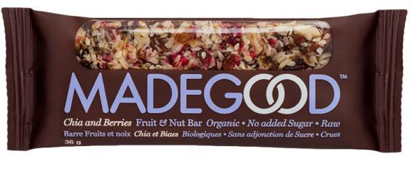 MadeGood Chia Berries Fruit & Nut Bar 36g (36g)