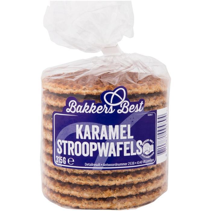 Stroopwafels karamel