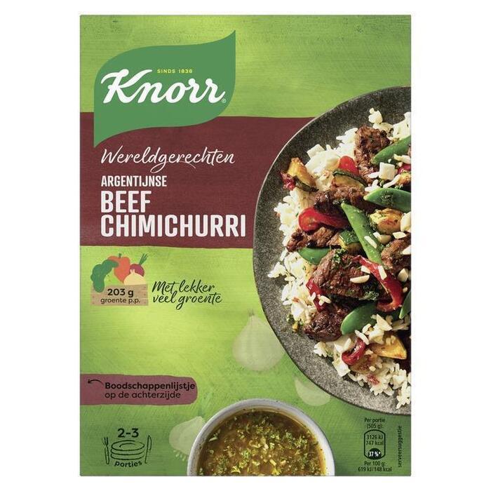 Knorr Wereldgerechten Argentijnse beef (269g)