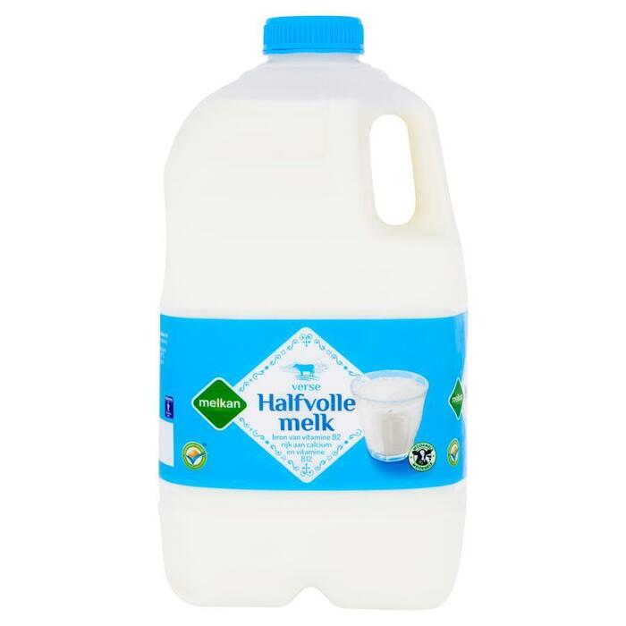 Verse halfvolle melk (kan, 2L)