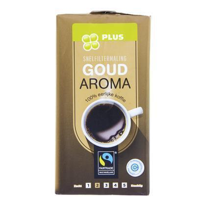 PLUS Goudmerk Filterkoffie Fairtrade (250g)