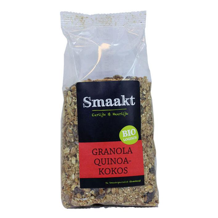 Biologisch Granola Quinoa-Kokos 350 g