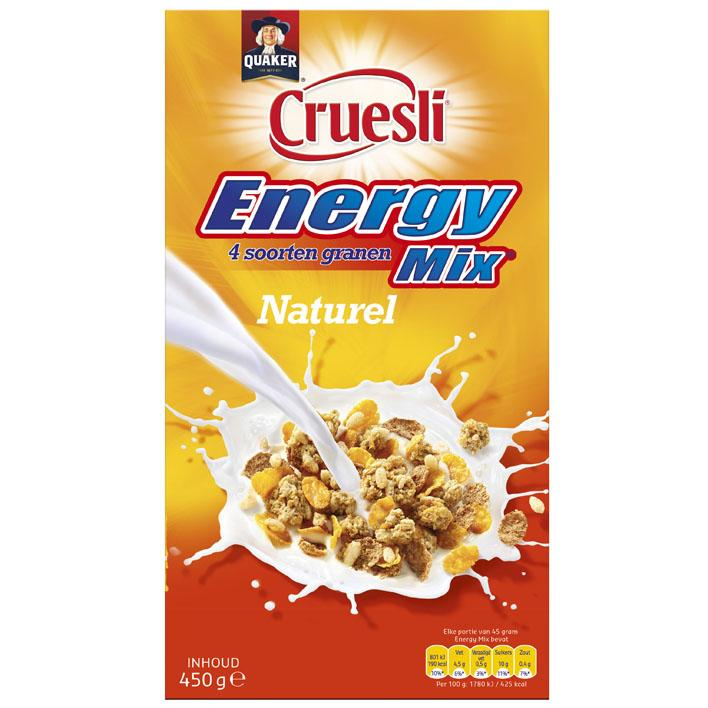 Cruesli Energy mix naturel