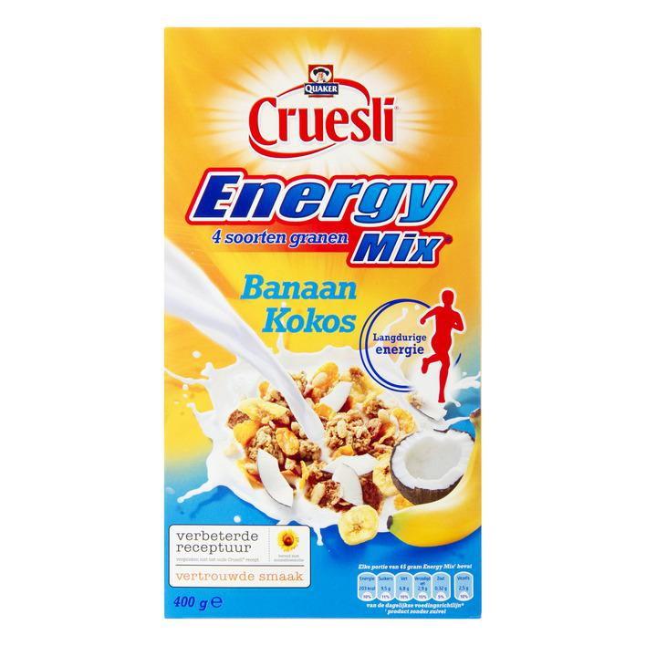 Cruesli energy banaan/ kokos