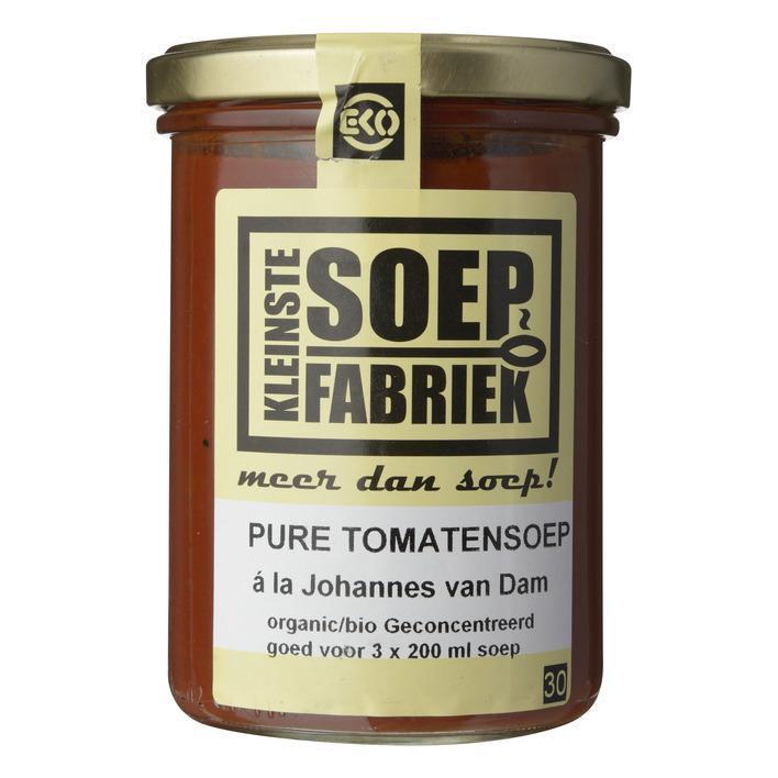Pure tomatensoep a la Johannes van Dam