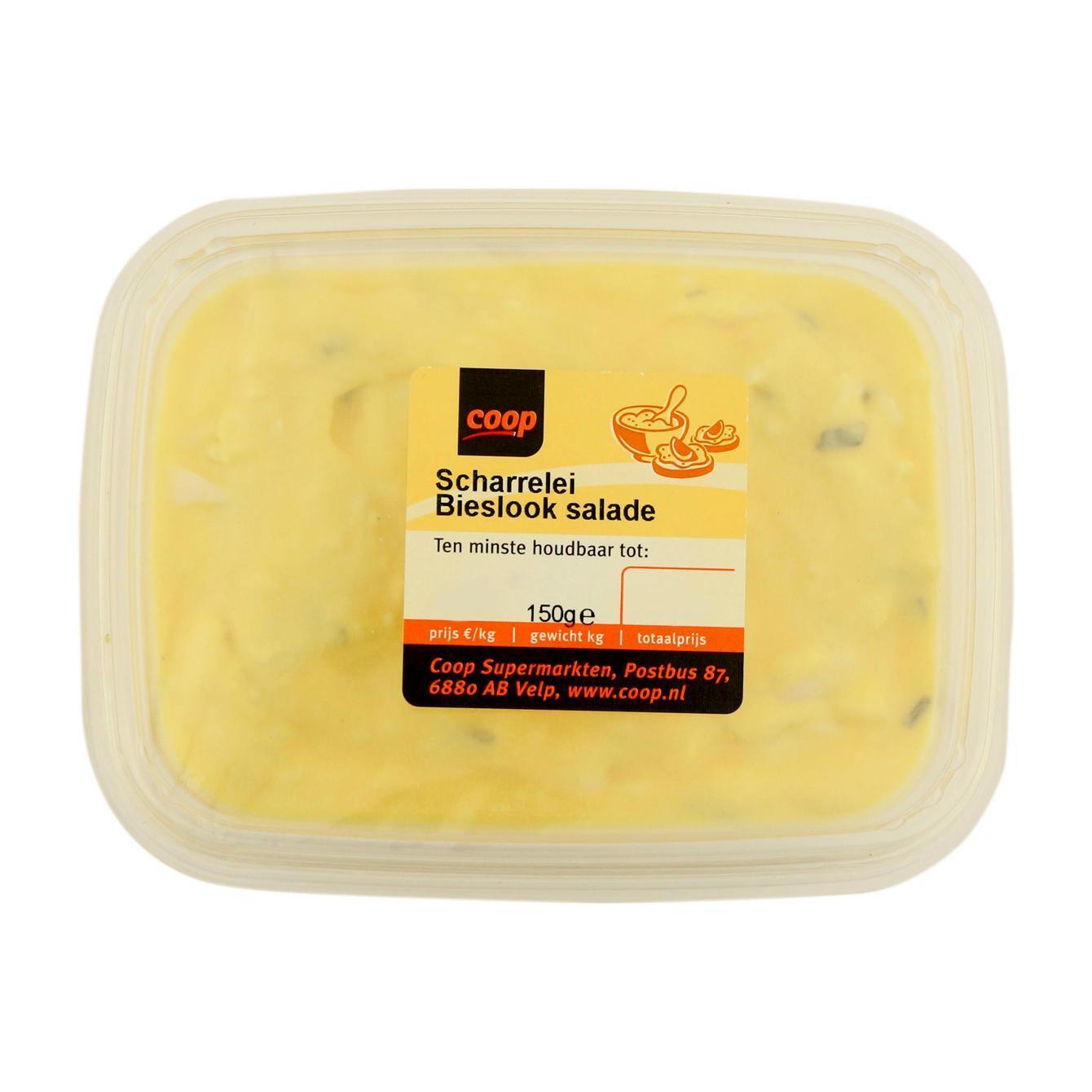 Scharrelei Bieslook Salade