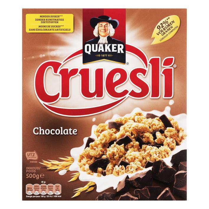 Cruesli Chocolate 500Gr