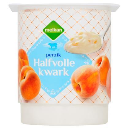 Halfvolle kwark perzik