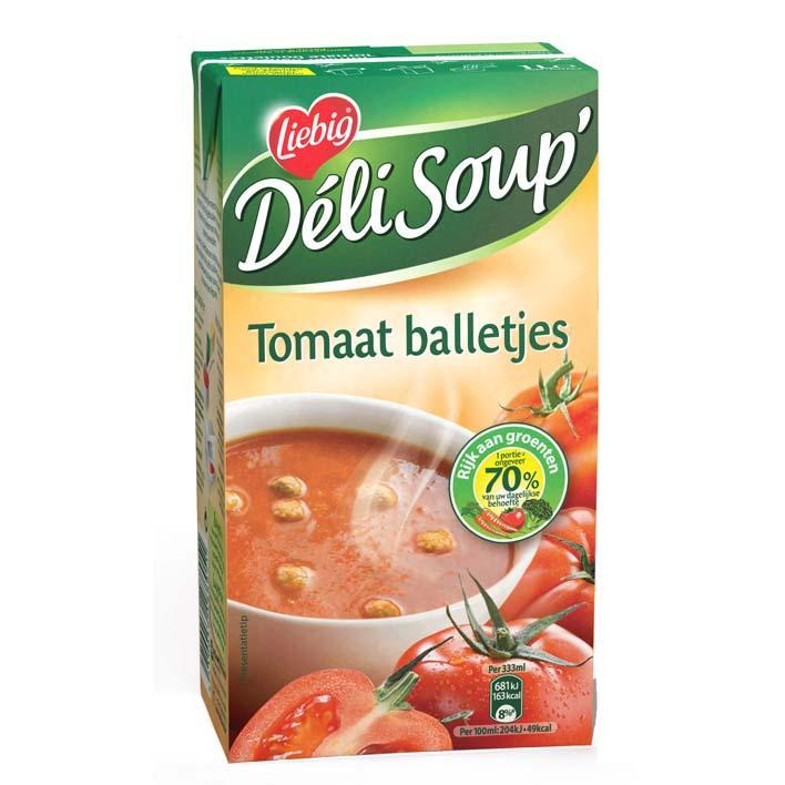 tomaat met balletjes