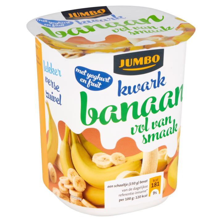 Kwark banaan