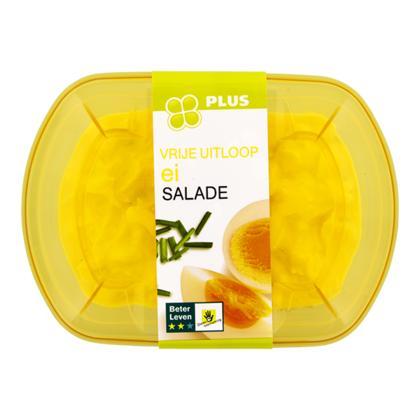 Vrije uitloop ei salade