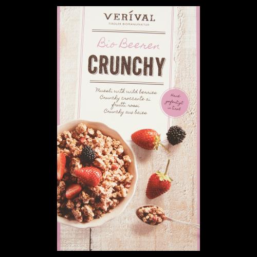 Bio Krokante Muesli met Bosvruchten 'Crunchy' 375g