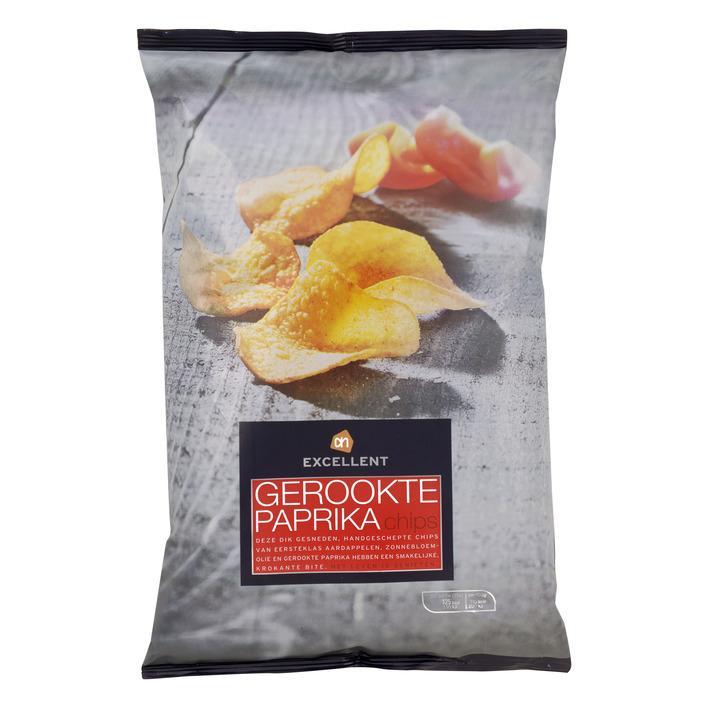Gerookte paprika chips
