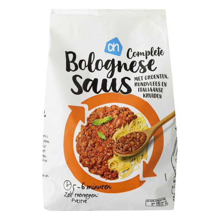 Pasta bolognese saus