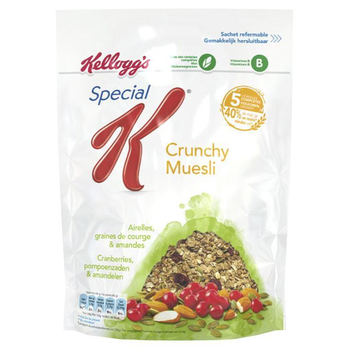 Special K crunchy muesli cranberry