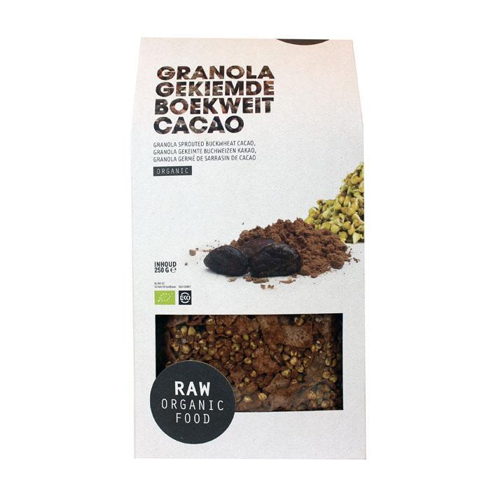 Granola Gekiemde Boekweit Cacao