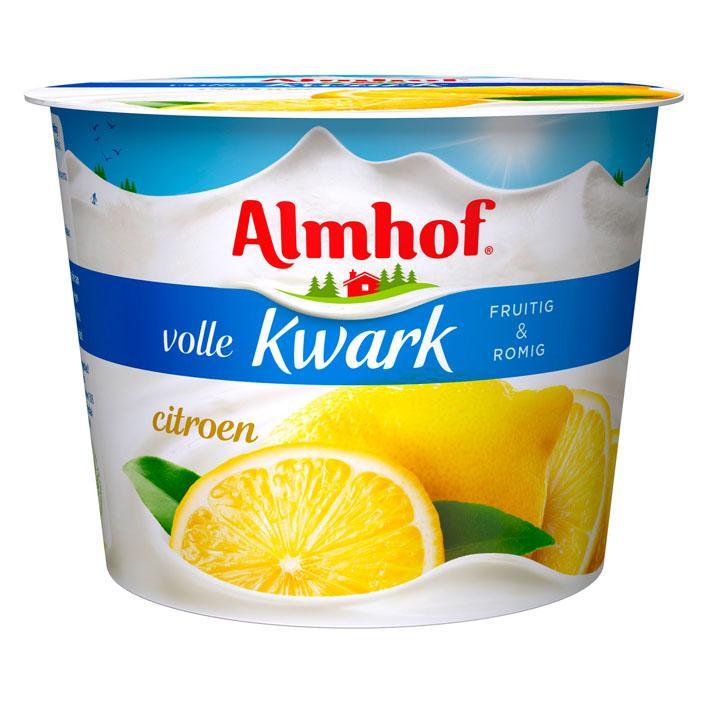 Volle kwark citroen