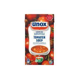 Rijkgevulde tomatensoep met gehaktballetjes