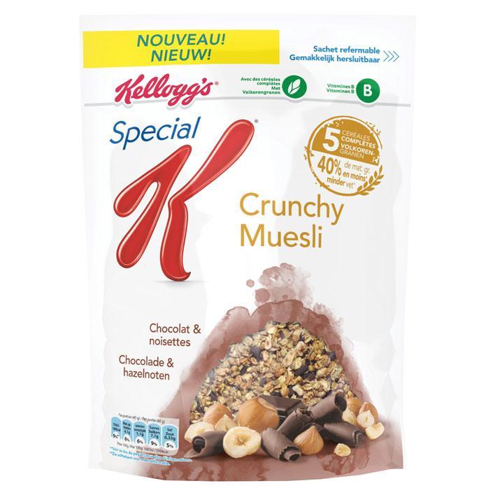 Special K crunchy muesli chocolade