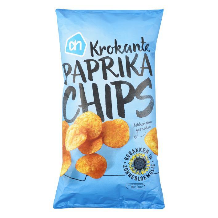 Krokante paprika chips