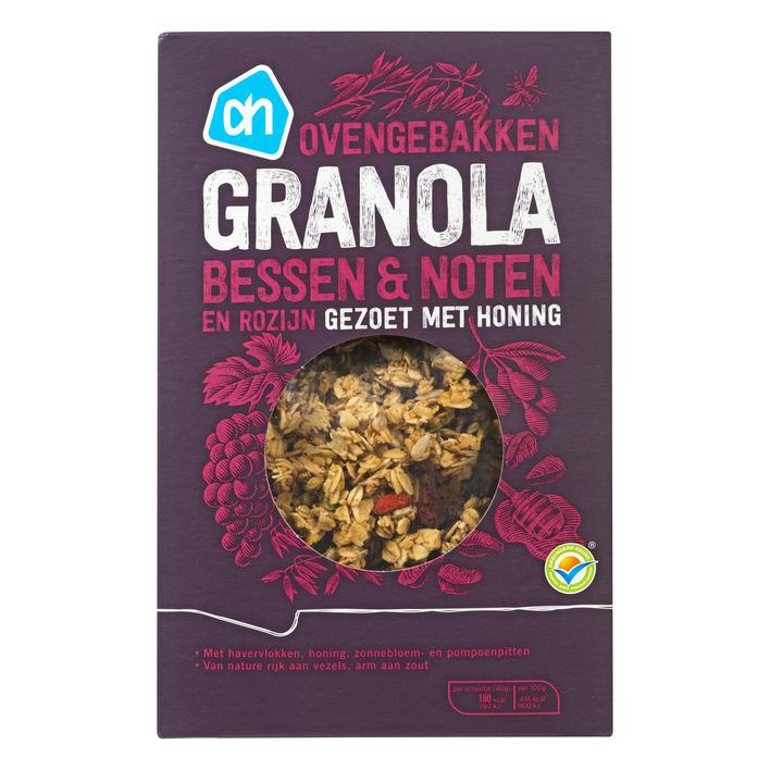 Granola bessen-noten-pitten