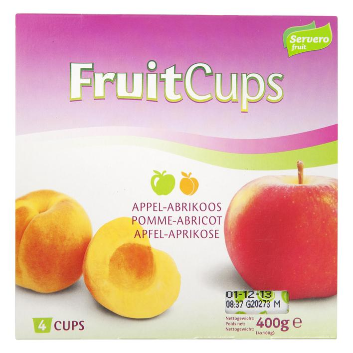 Fruitcups Appel-Abrikoos