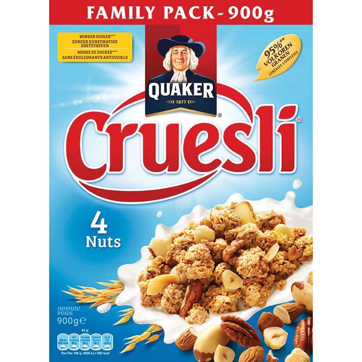 Cruesly 4 Nuts