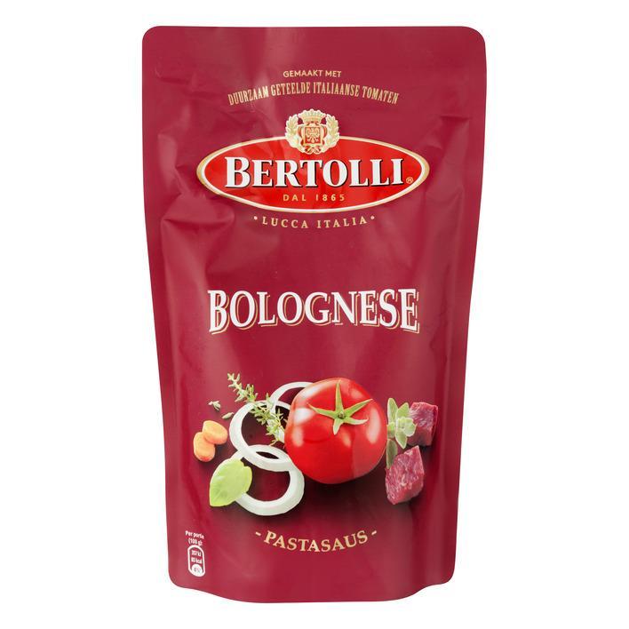 Pastasaus in zak bolognese