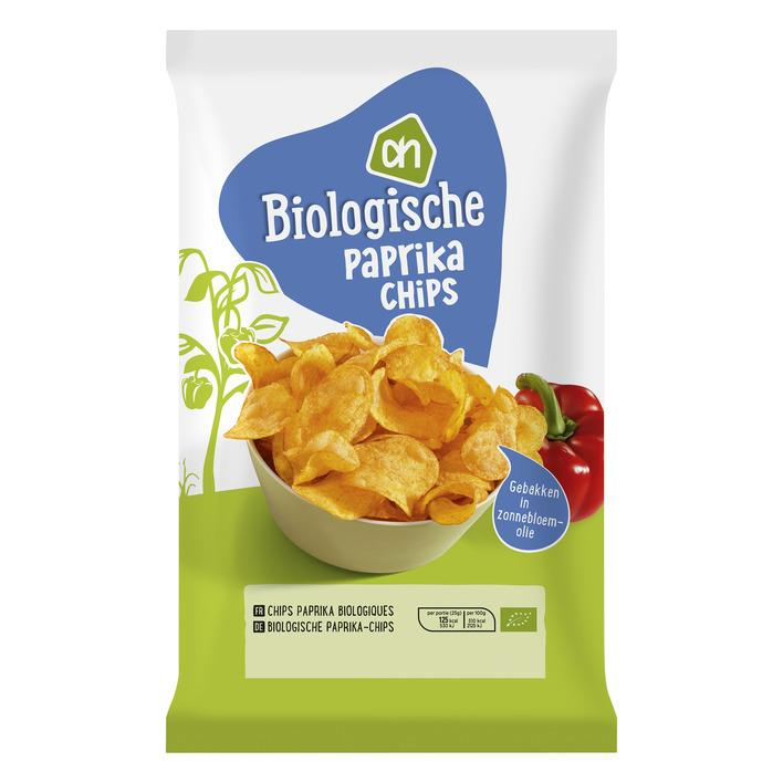 Biologisch paprika chips