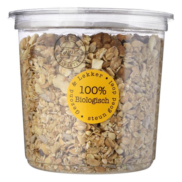 Geroosterde oergranen granola-spelt
