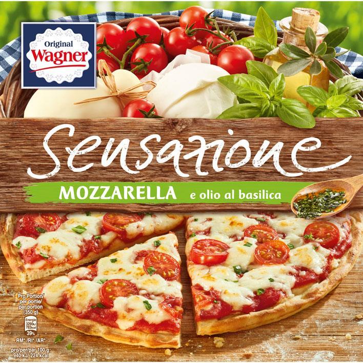 Original Sensazione Pizza Mozzarella