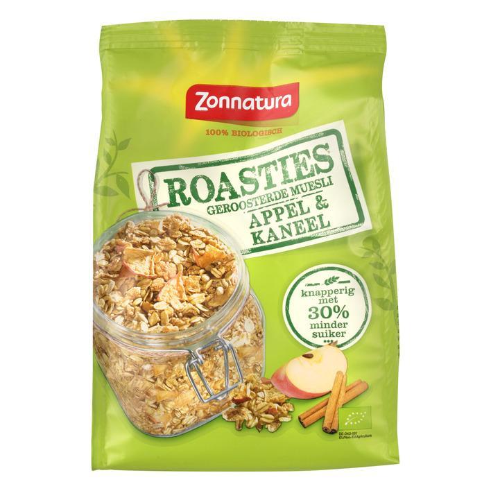 Roasties Geroosterde Muesli Appel & Kaneel 300 g