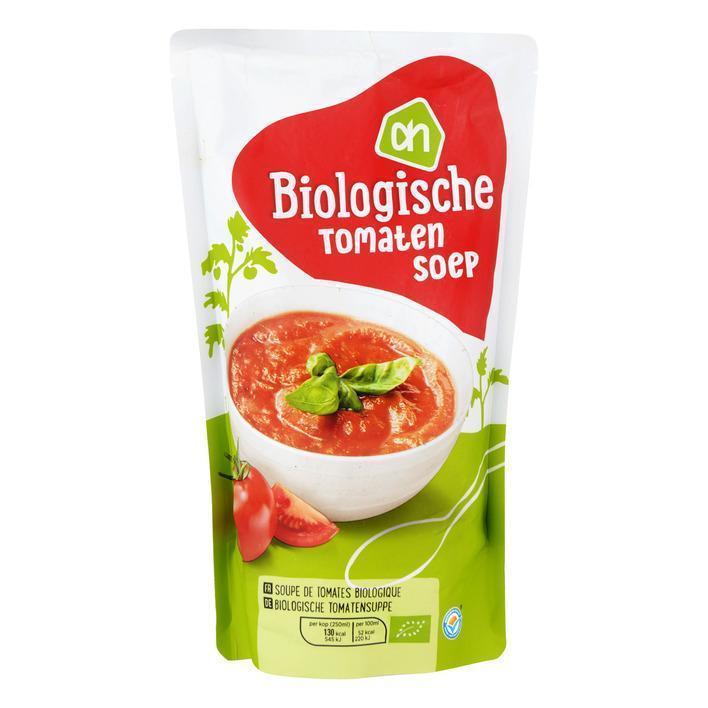 Biologische tomatensoep