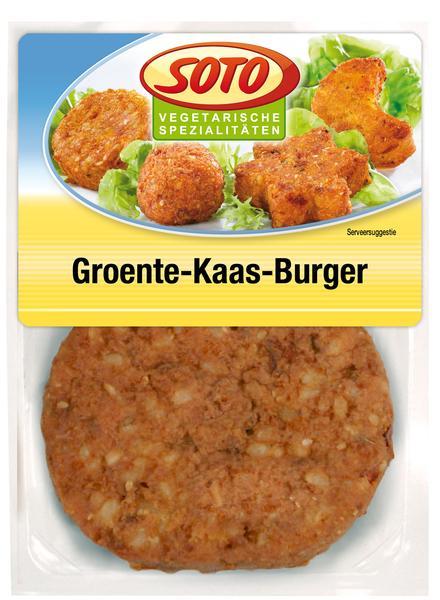 Groente-Kaas-Burger