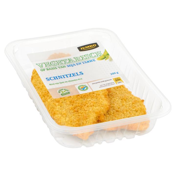 Vegetarisch Schnitzels
