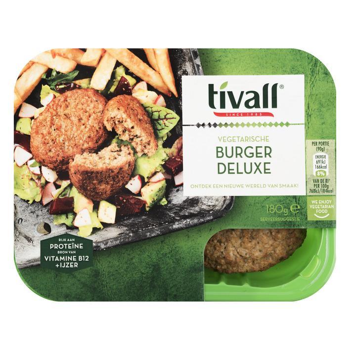 Vegetarische Burger Deluxe