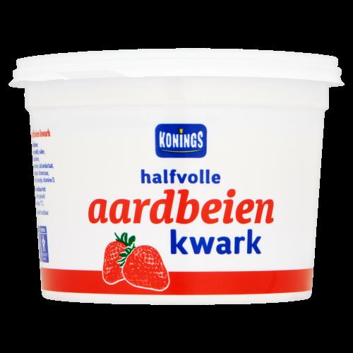 Halfvolle Aardbeienkwark