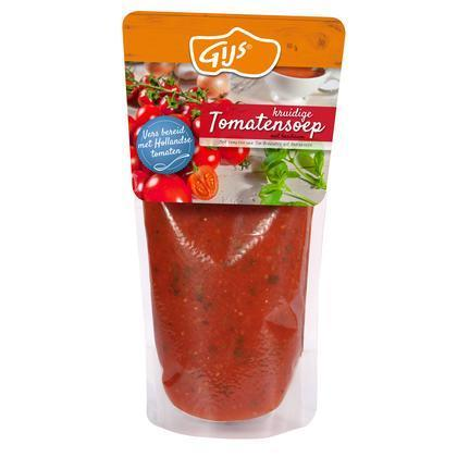 Kruidige tomatensoep