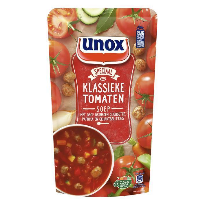 Klassieke tomatensoep