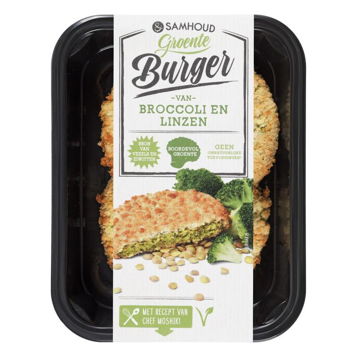 &samhoud Broccoliburger