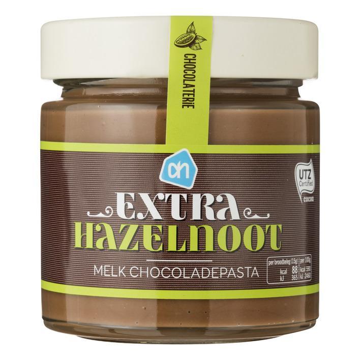 Chocoladepasta melk extra hazelnoot