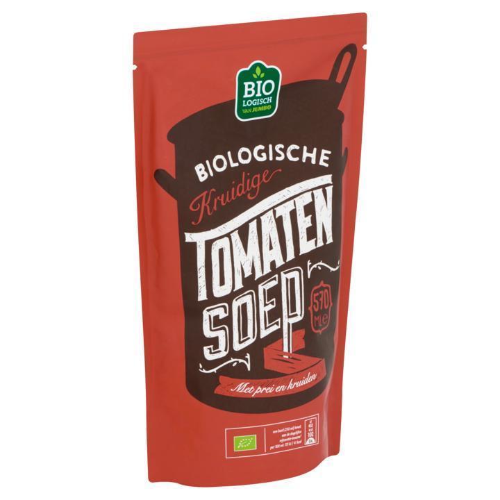 Biologische Kruidige Tomatensoep
