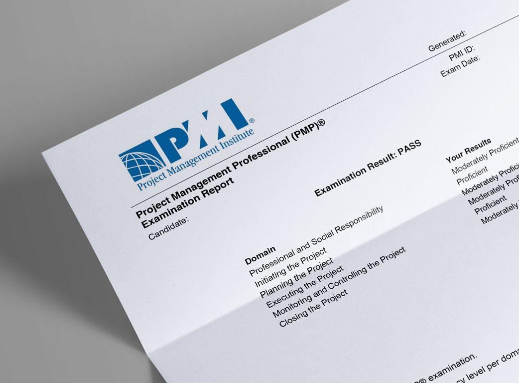 Notas del examen PMP
