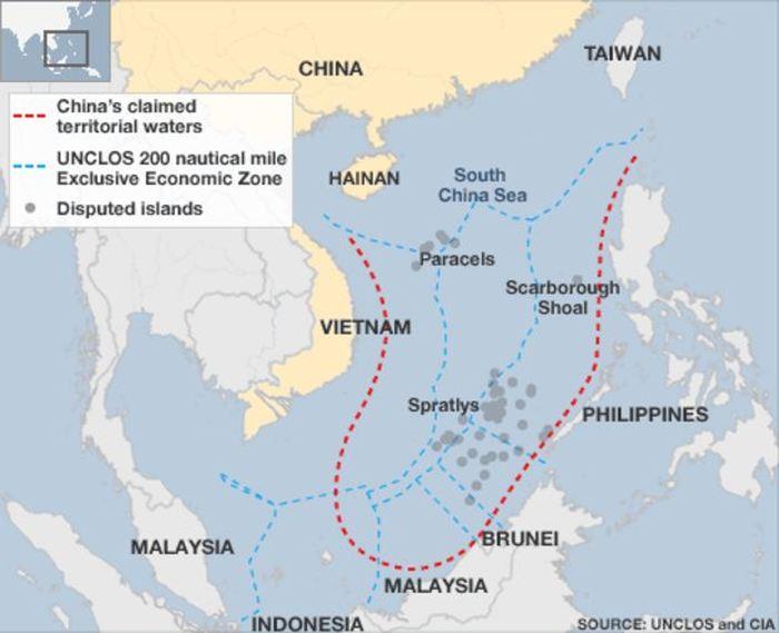 La Mer de Chine méridionale (SCS)