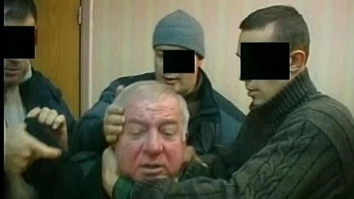Sergei Skripal lors de son arrestation en 2006 en Russie