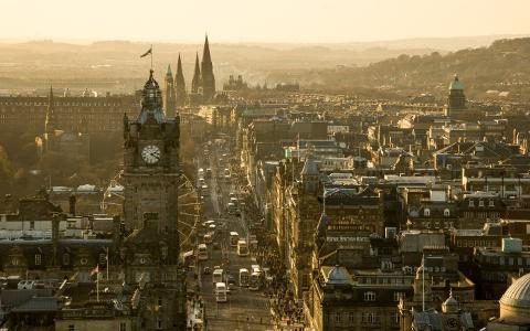 Edinburgh named top UK property hotspot