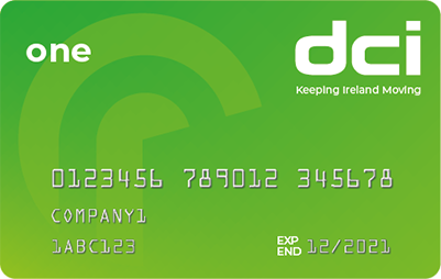 DCI One fuel card