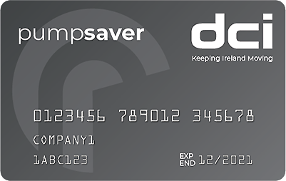 DCI Pump Saver fuel card