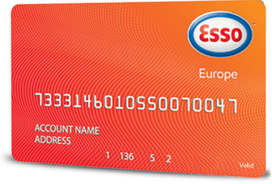 Carte de Carburant Esso Europe