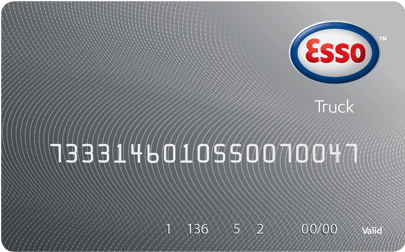 Esso Truck fuel card